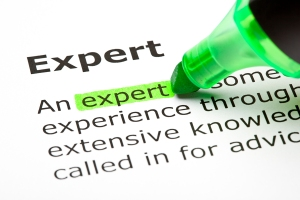 Being recognized as an industry expert can be powerful and persuasive.