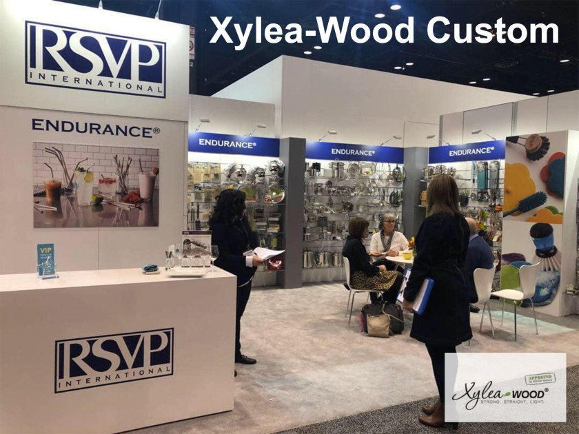 Xylea Wood Custom DIY Booth